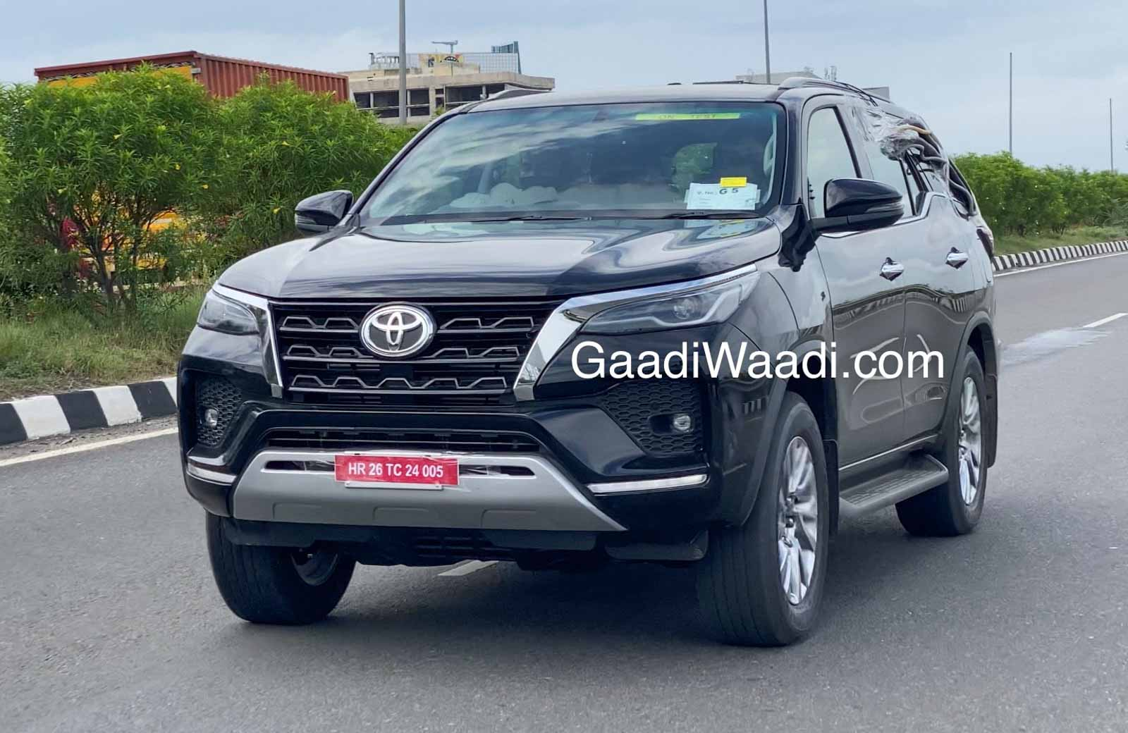 Toyota Fortuner Facelift India