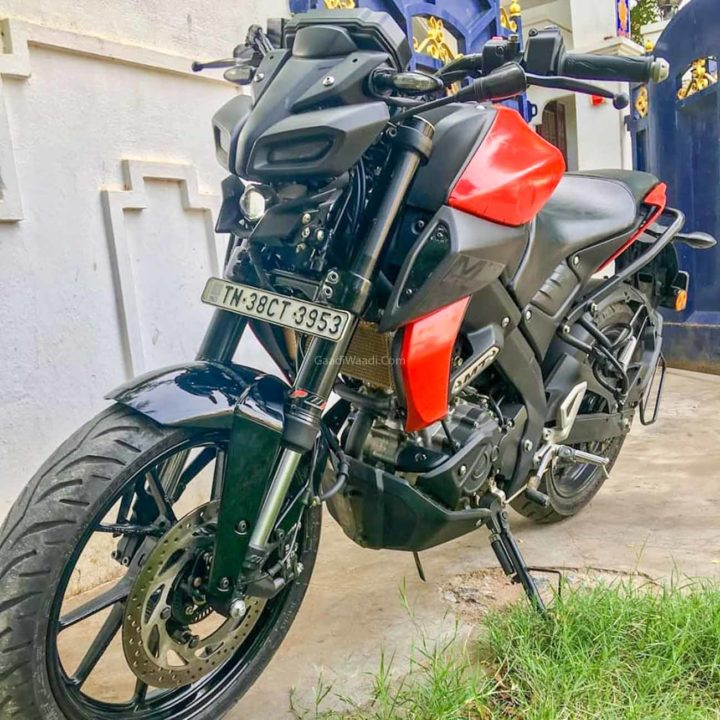 Yamaha MT15 With USD Forks-6