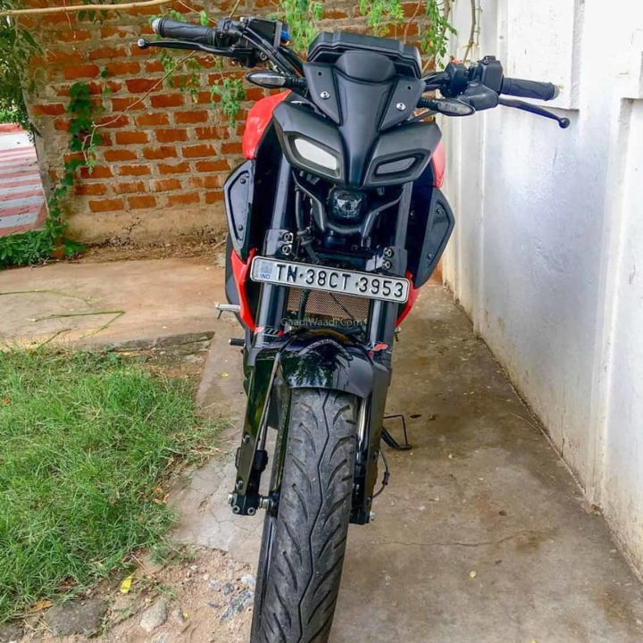 Yamaha MT15 With USD Forks-7