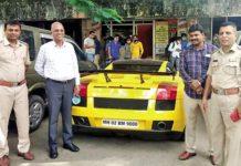 Lamborghini Gallardo seized by Bengaluru police