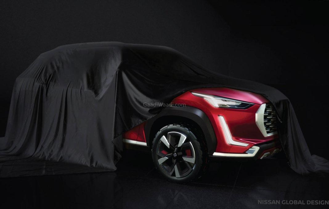 upcoming Nissan B-segment SUV