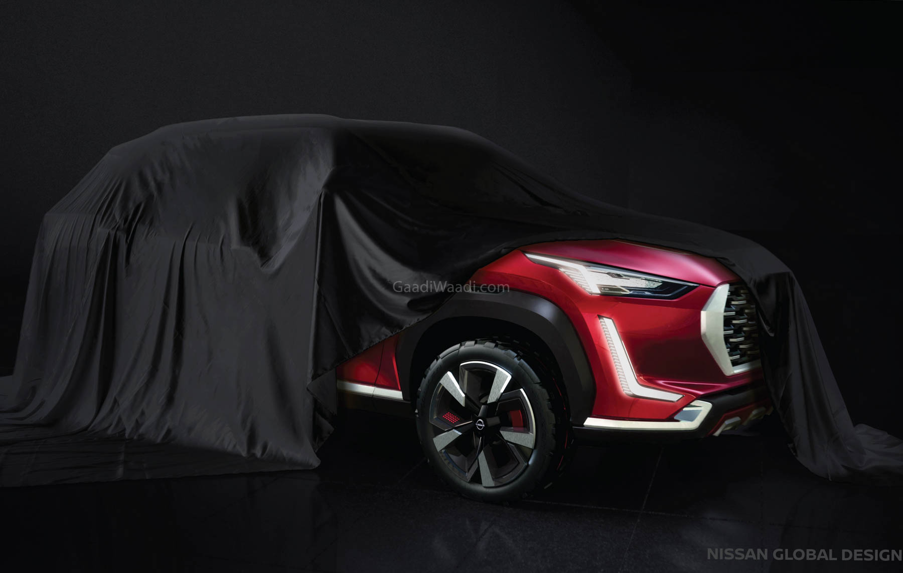 Upcoming Nissan's B-SUV (Venue Rival) Teased, Debut On 16th July