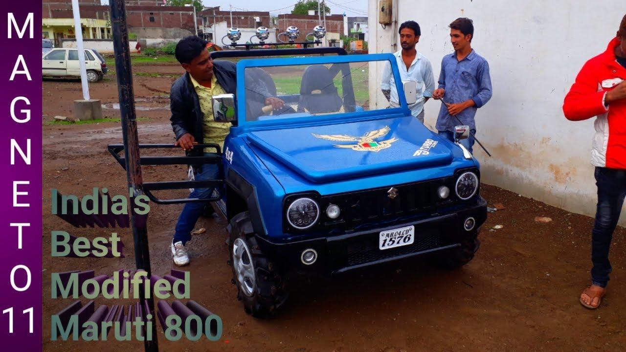 This Custom Maruti 800 Into Jimny Deserves A Big Round Of Applause