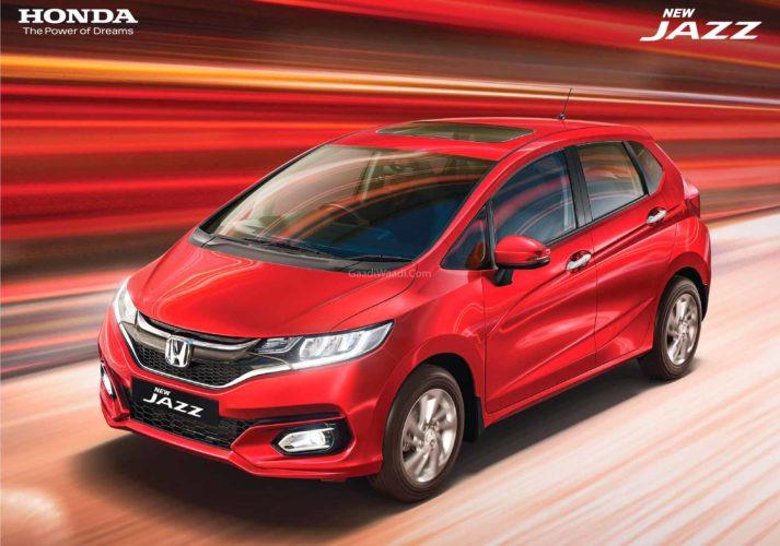 2020 Honda Jazz facelift