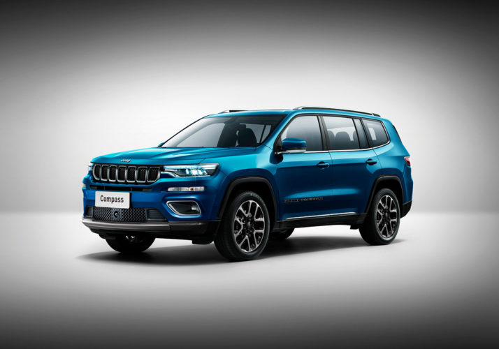 2021 Jeep Compass 7-seater rendering