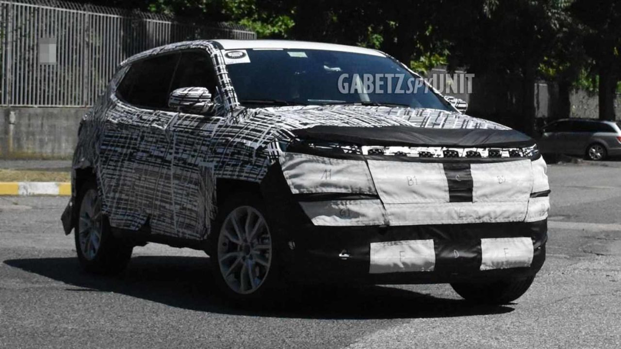 2021 Jeep Compass Spied 1