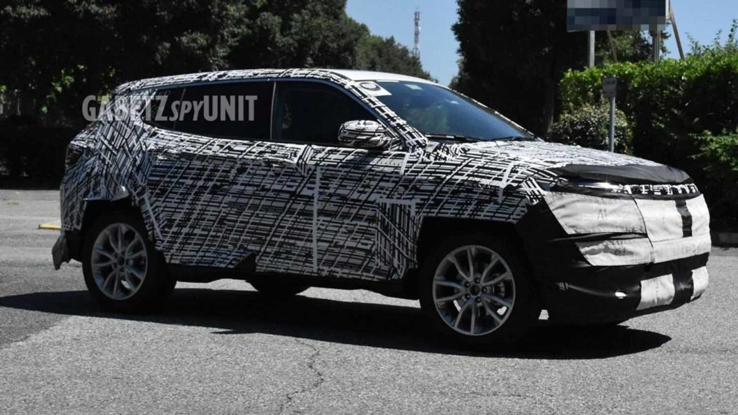 2021 Jeep Compass Spied
