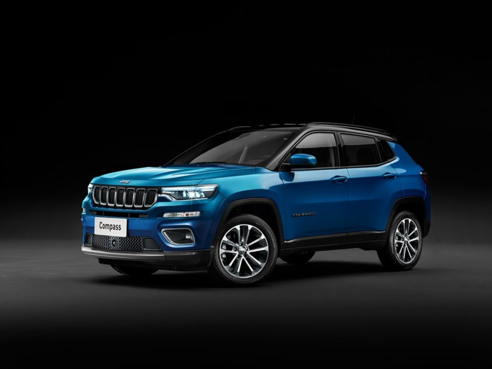 2021 jeep compass 5 and 7seater digitally rendered