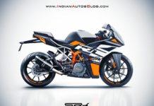 2021 KTM RC 390 Rendered
