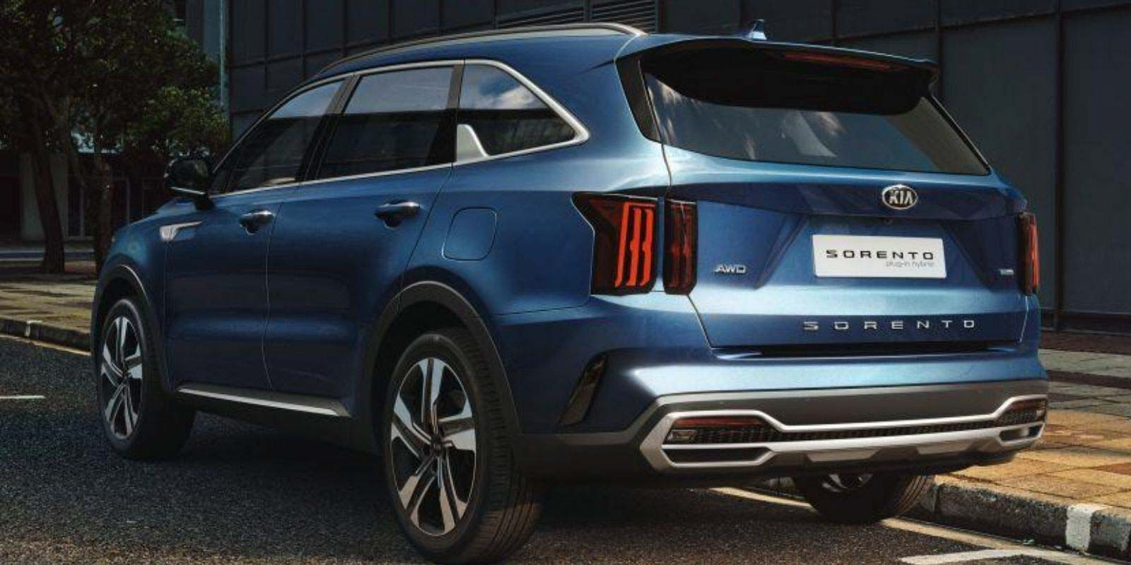 2021 Kia Sorento Plug-In Hybrid SUV Unveiled With 4WD System