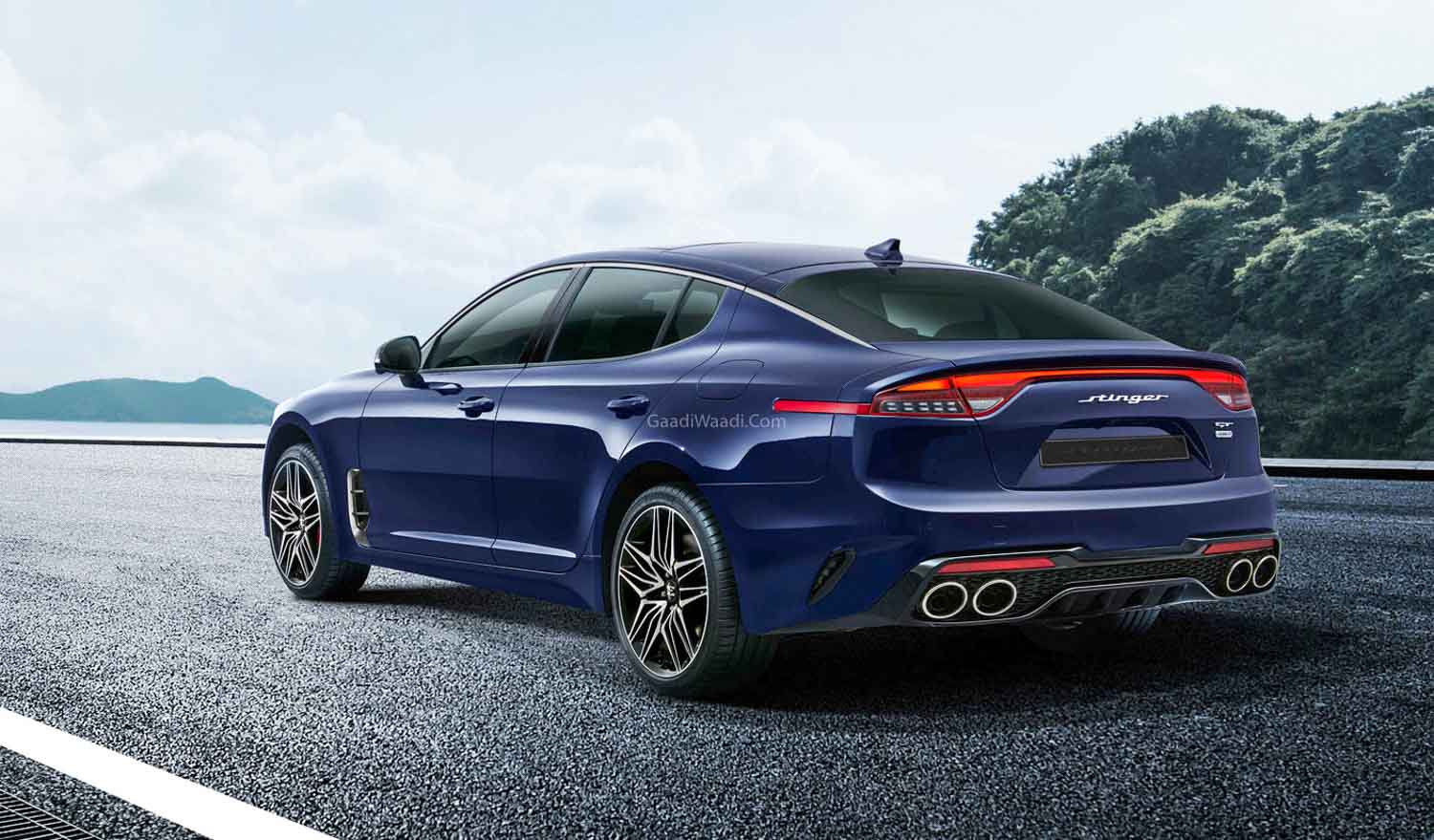 2021 Kia Stinger Revealed With More Tech & Updated Powertrains