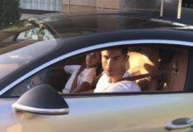 Christiano Ronaldo Bugatti