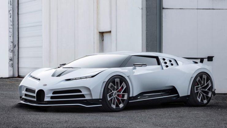 Christiano Ronaldo Bugatti Centodieci