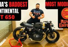Customised RE Continental GT 650