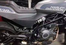 Harley-Davidson 338R Spied