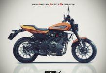 Harley-Davidson 350 Rendering