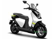 Husqvarna electric scooter rendering
