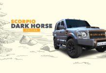Mahindra Customisation Scorpio Dark Horse