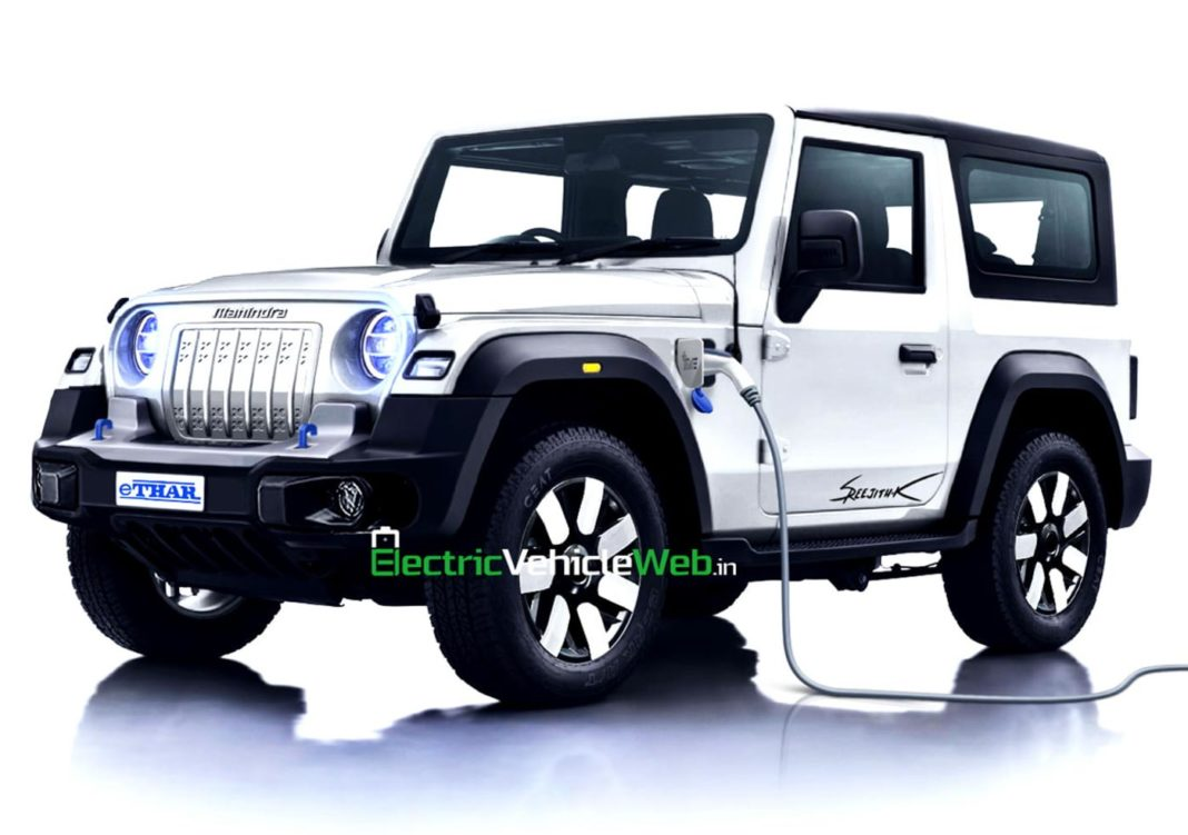 Mahindra eThar Rendered