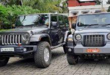New Mahindra Thar vs Jeep Wrangler 3