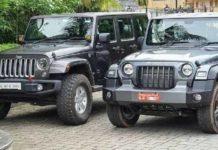 New Mahindra Thar vs Jeep Wrangler 5