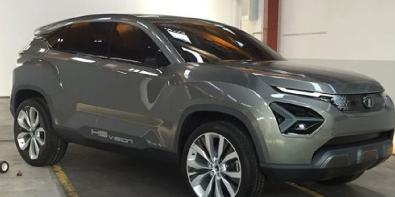 Tata H5X Concept Final Clay Model