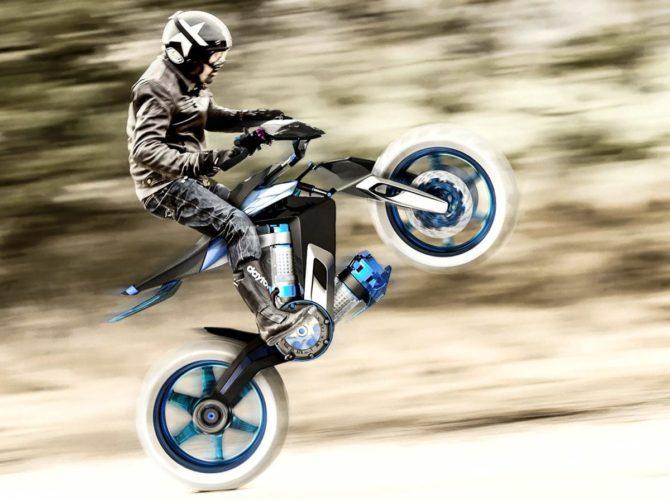Yamaha XT H20 Concept bike