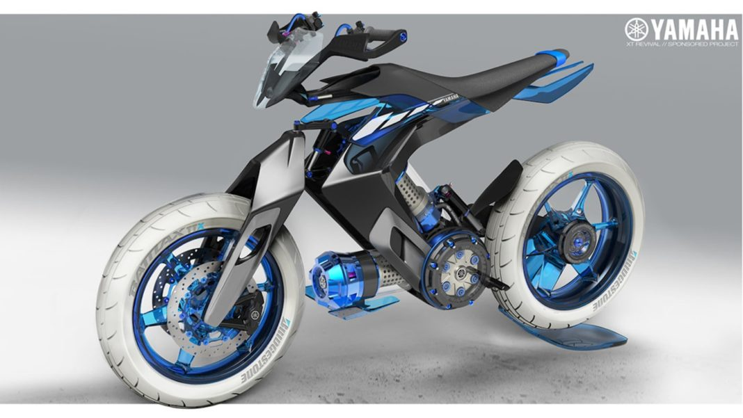 Yamaha XT H20 Concept Motorcycle