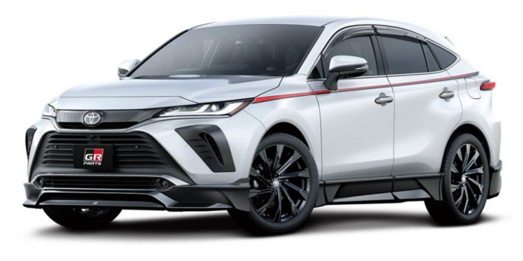 2020 toyota harrier gr parts 1