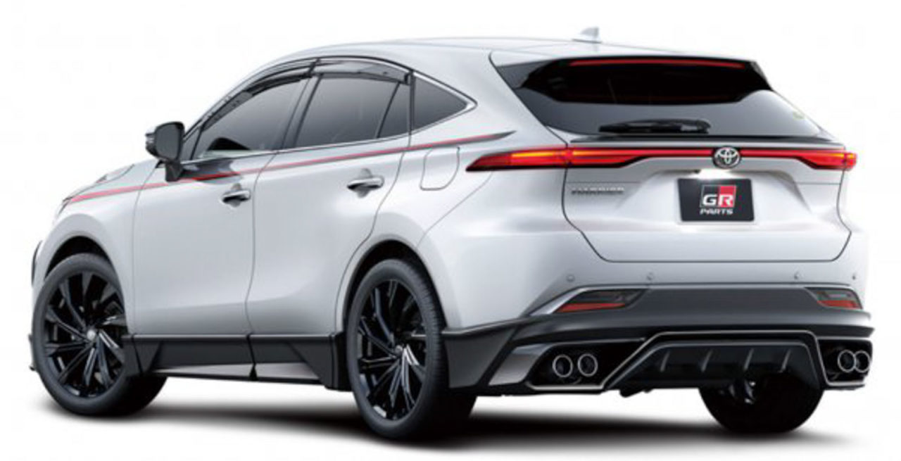 2020 toyota harrier gr parts