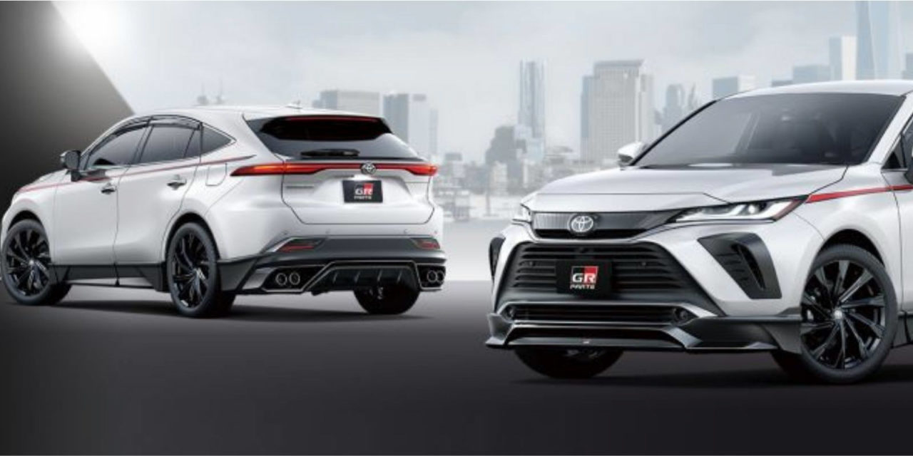 2020 toyota harrier gr parts 3