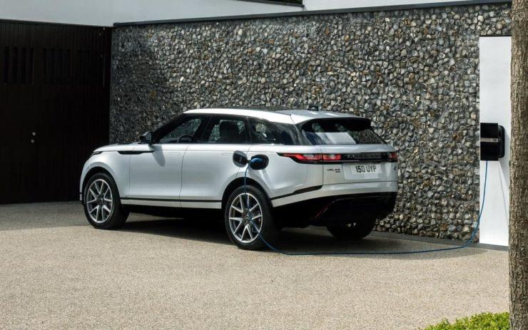2021 Land Rover Range Rover Velar charging
