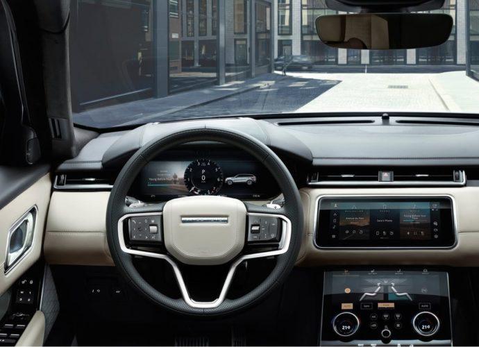 2021 Land Rover Range Rover Velar interior
