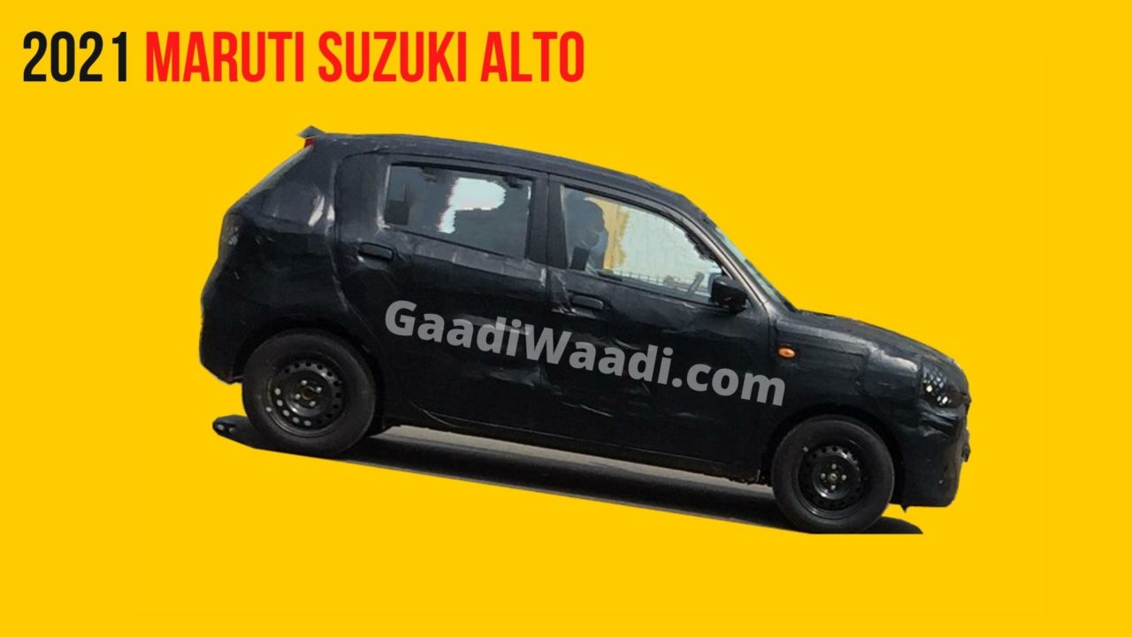 2021 Maruti Suzuki alto