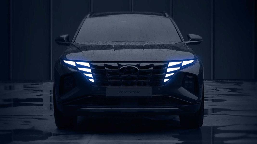 New Hyundai Tucson: teaser pics show bold new design
