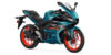 2021 yamaha r3 teal electric