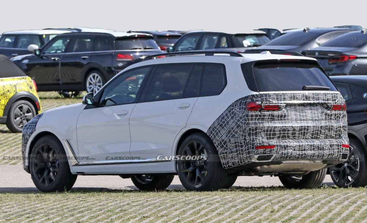 BMW X4 Facelift Spotted On Test For The First Time