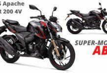 APACHE RTR 200 SUPER MOTO-1