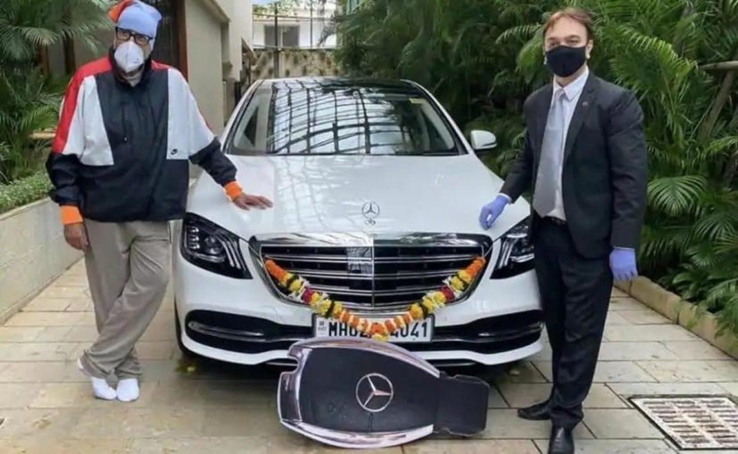 Amitabh Bachchan Mercedes S350d