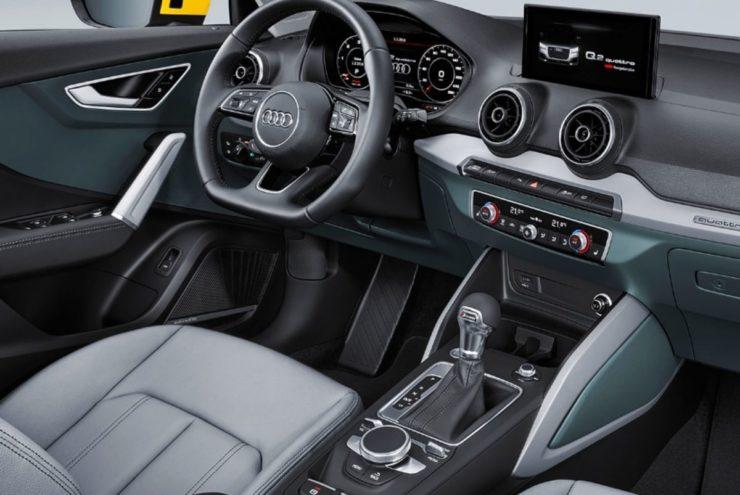 2020 Audi Q2 pre-facelift interior