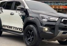 Customised toyota fortuner hilux 1