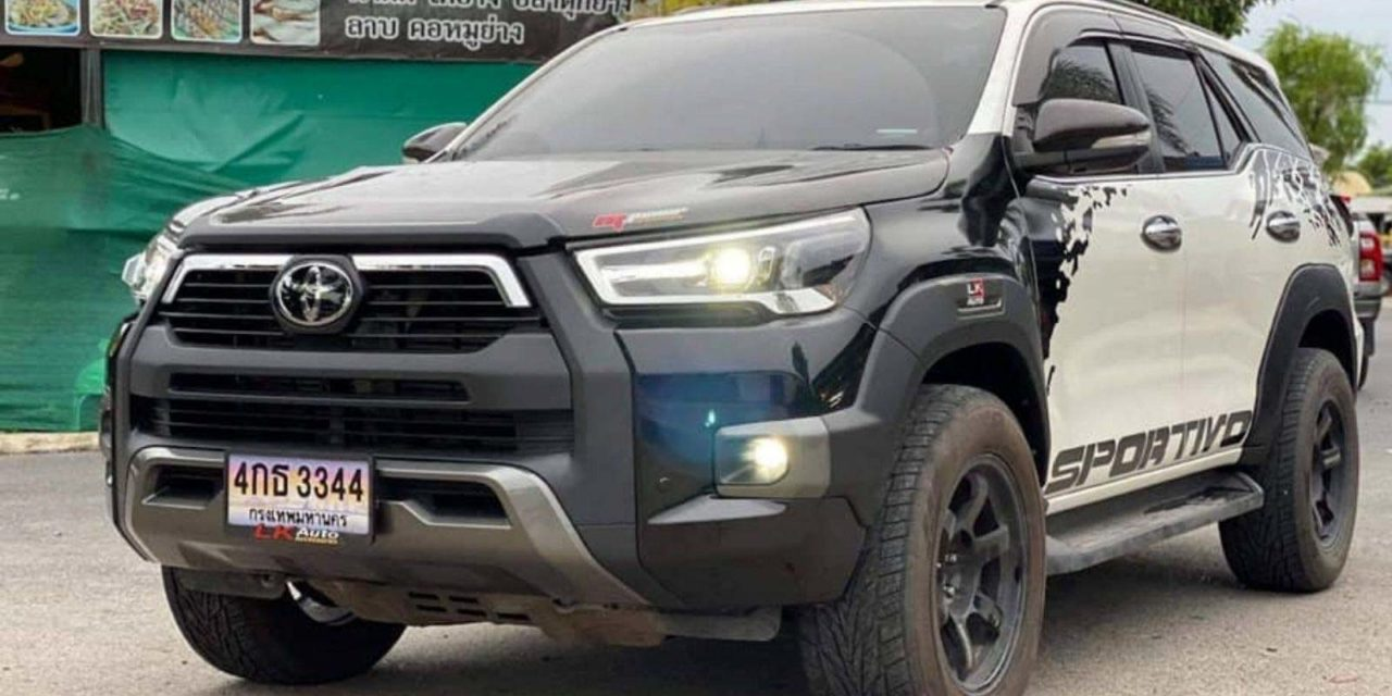 Customised toyota fortuner hilux