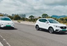 Hyundai Kona EV vs MG ZS EV