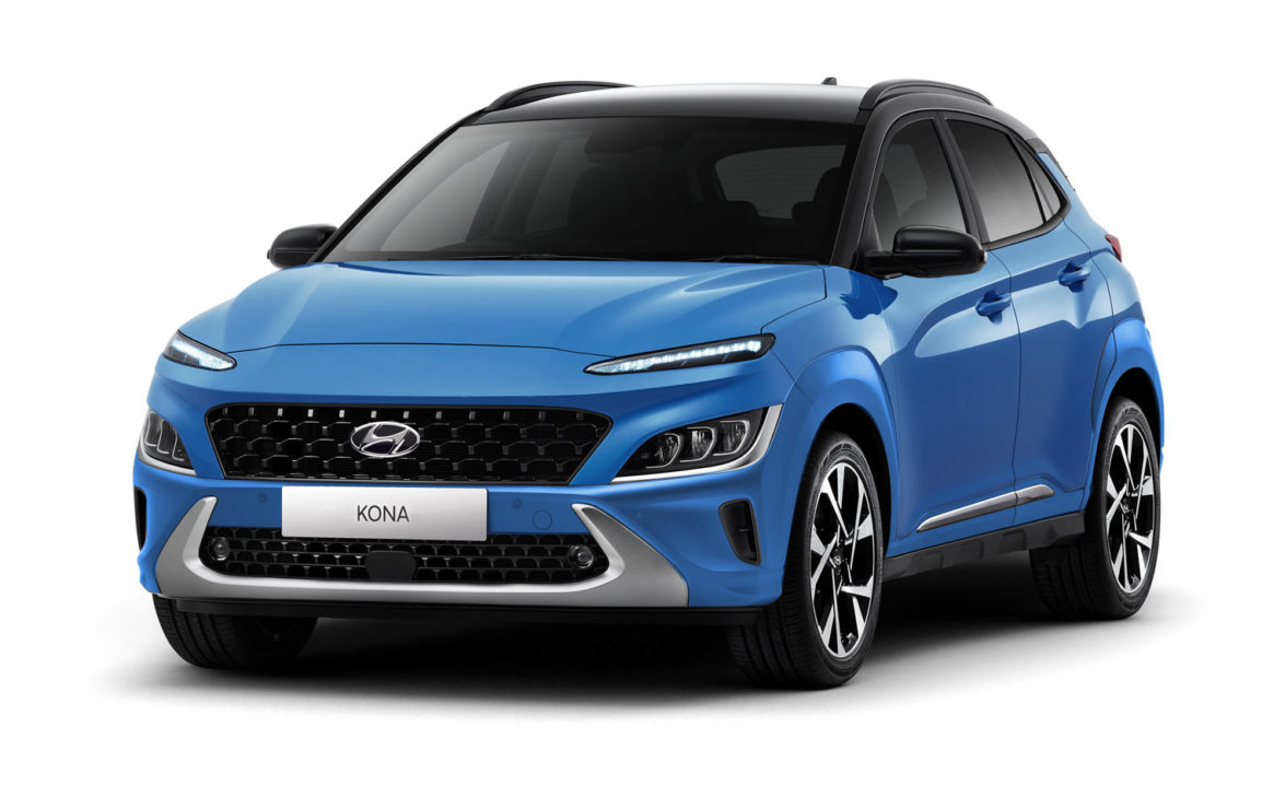 Hyundai Kona Electric rendering