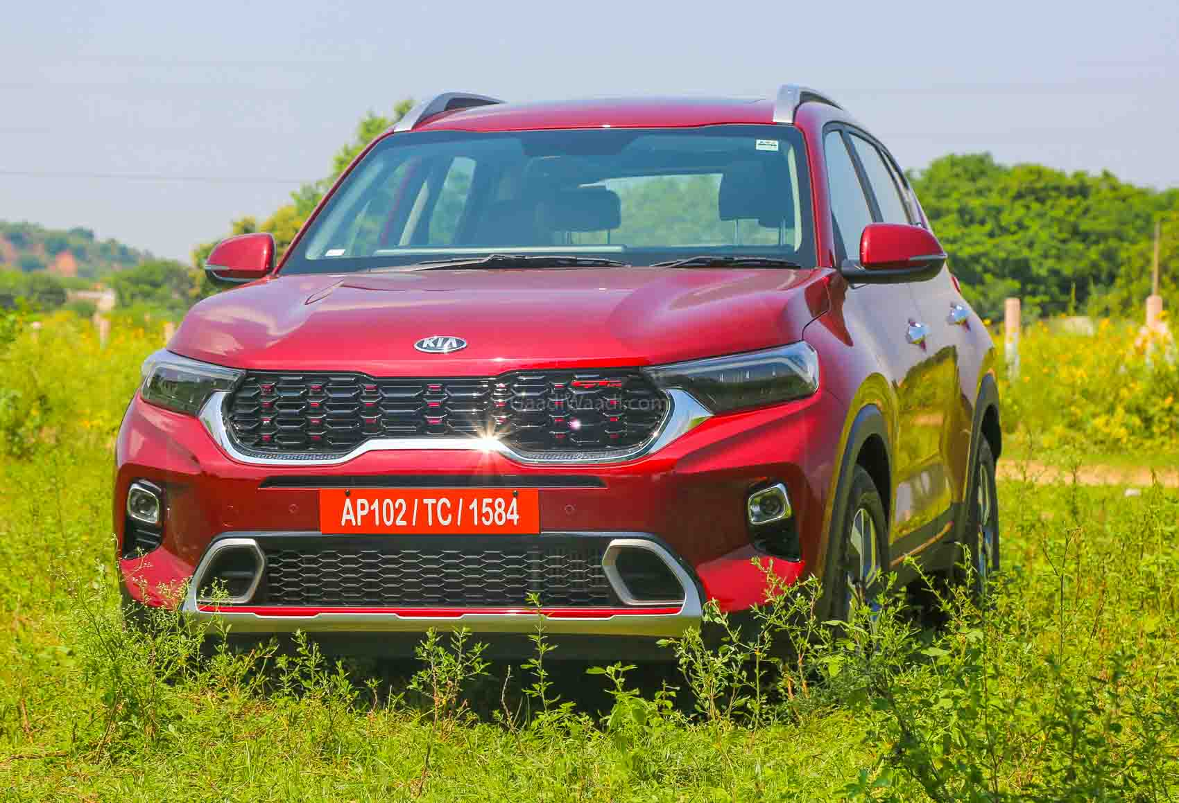 Kia Sonet Launching Tomorrow In India Expected Price Feature Details