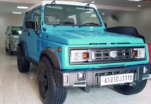 Maruti Gypsy modified front angle