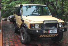 Modified Tata Sumo Land Rover Defender