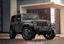 New generation Mahindra Thar modified feature