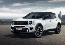 Next generation Jeep Renegade rendering front angle