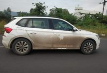 Skoda Kamiq spied in India 1